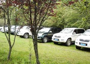 生态广场和生态停车区